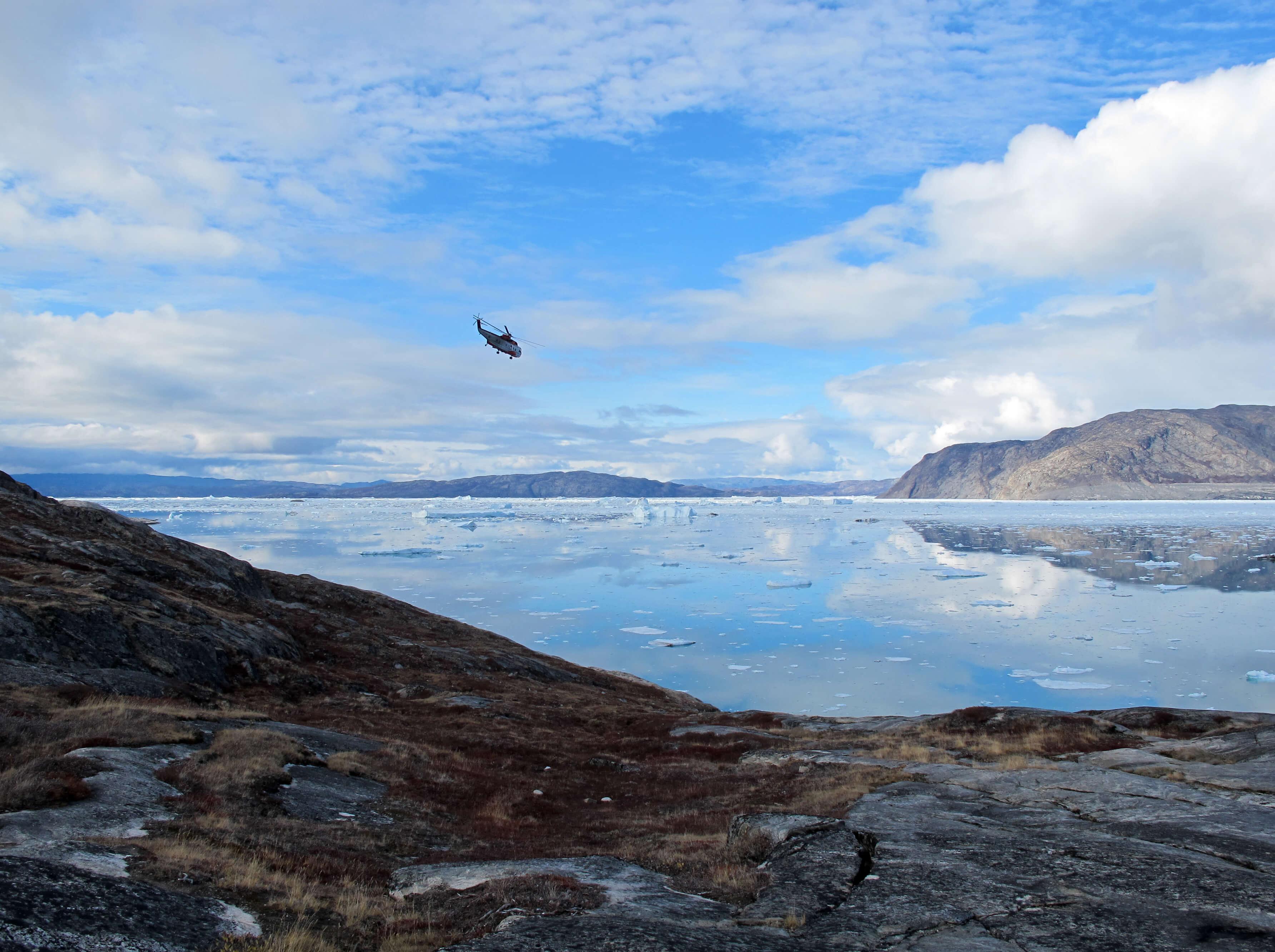 Spélé'Ice, mission 2007 au Groenland
