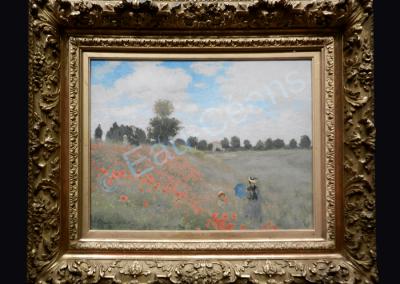 """""""Les coquelicots"""" Claude Monet (1873)"""