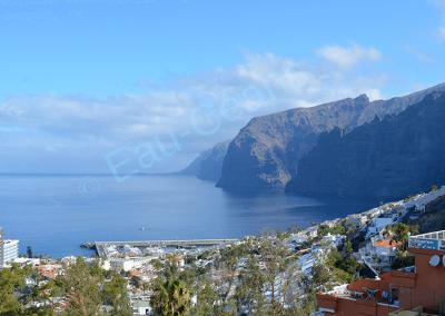 Los Gigantes, falaises de 500 mètres de hauteur