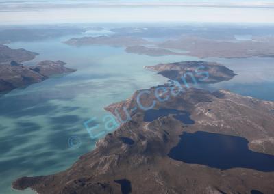 Le survol du Groenland