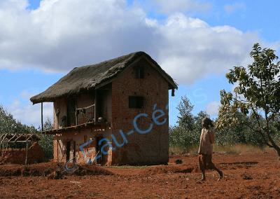 Habitation malgache pittoresque