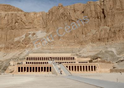 Deir El-Bahari, temple funéraire d'Hatshepsout
