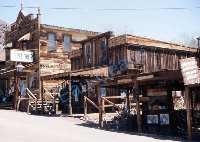 Calico, ville des prospecteurs d'argent, désertée en 1907 et devenue fantôme