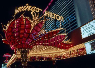 Flamingo Hilton, un des multiples hôtels de las Vegas (120 000 chambres pour toute la ville)