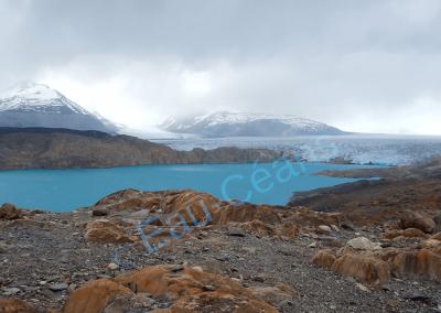 Le glacier Upsala dans le Parque Nacional Los Glaciares