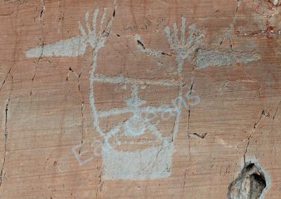 Des idéogrammes, dans la vallée des Merveilles comme ce sorcier, témoignent d'anciens cultes rendus aux divinités de la terre
