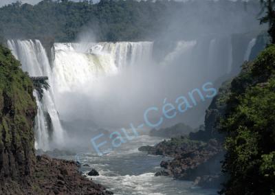 """Les chutes d'Iguazú, """"Les plus impressionnantes du monde"""""""