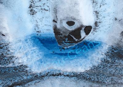 La cryoconite, poussière du froid sur la glace