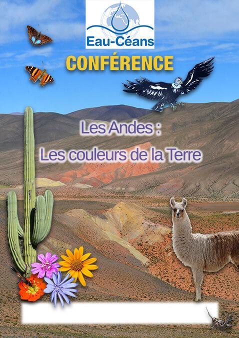 Affiche Les Andes : Les couleurs de la Terre